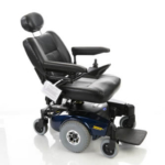 Invacare Pronto M61 with electric backrest