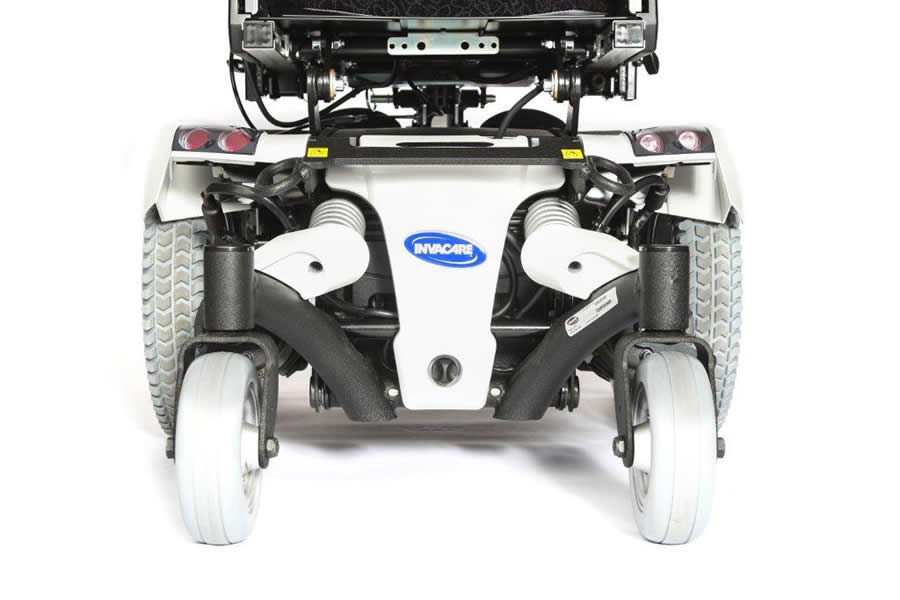 Invacare TDX 2NB showing the arctic white shroud colour