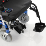 Invacare Spectra XTR 2 showing legrests