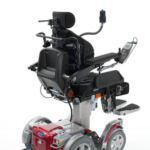 Invacare Storm 4 shown with matrix backrest and iPortal in hi-low
