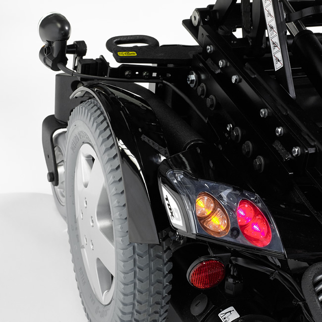 Invacare TDX SP2 showing the lights