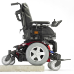 Invacare TDX SP2 showing the sure steps and stability lock options