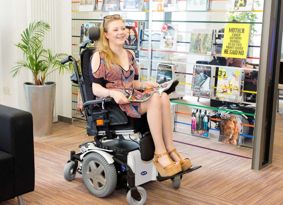 Invacare TDX 2NB in 1 in 20 tilt