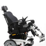 Sunrise Medical Luca QLASS shown with electric seat tilt