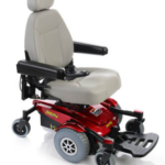 Pride Mobility Jazzy Select 6 in red