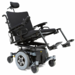 Pride Mobility Quantum 600 Sport HD shown in tilt in space