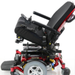 Pride Mobility Quantum 600 Sport showing tilt in space