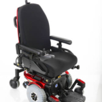 Pride Mobility Quantum 610 with center footplate