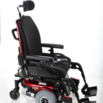 Pride Mobility Quantum 610 with swing away leg rests