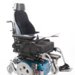 Sunrise Medical Quickie Salsa M shown with Jay comfort backrest and cushion right hand stump support