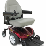 Pride Mobility Jazzy Select 6 shown with right hand control