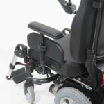 Sunrise Medical XP showing the height adjustable armrest