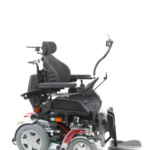Invacare Storm 4 shown with matrix backrest and iPortal