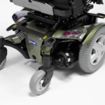 Invacare TDX SP2 show in aviator green