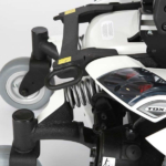 Invacare TDX 2NB showing the lights