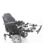 Sunrise Medical XP shown with electric elevating leg rests