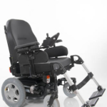 Sunrise Medical XP shown with seat slightly tilted