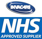 Invacare. NHS Approved Supplier.